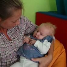 Oliwia Rykert waga 3300 g 15.07.2014r. Więcbork