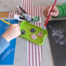 3.malowanie pastą do zębów