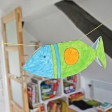 papierowa rybka