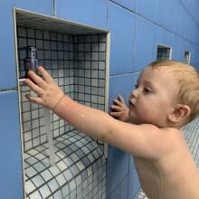 Zabawy swobodne w basenie